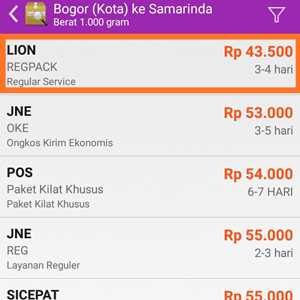 Lion Parcel Bogor Terdekat Gratis Pickup Ongkos Kirim Lion Parcel Bogor Ke Samarinda
