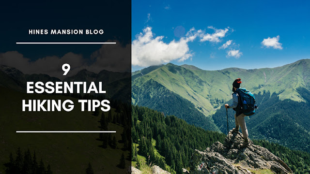 9 Essential Hiking Tips blog cover image