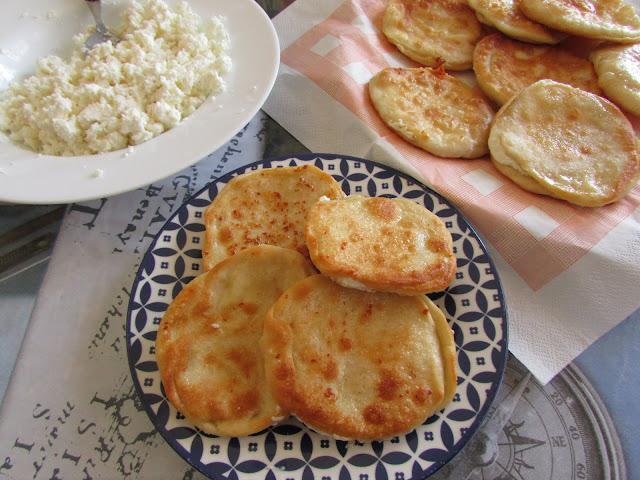 smazony chleb Chalkidiki
