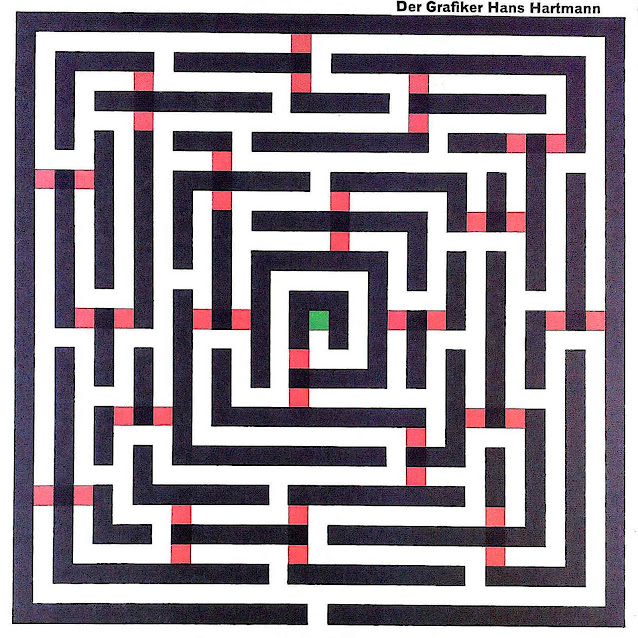a Hans Hartmann graphic maze