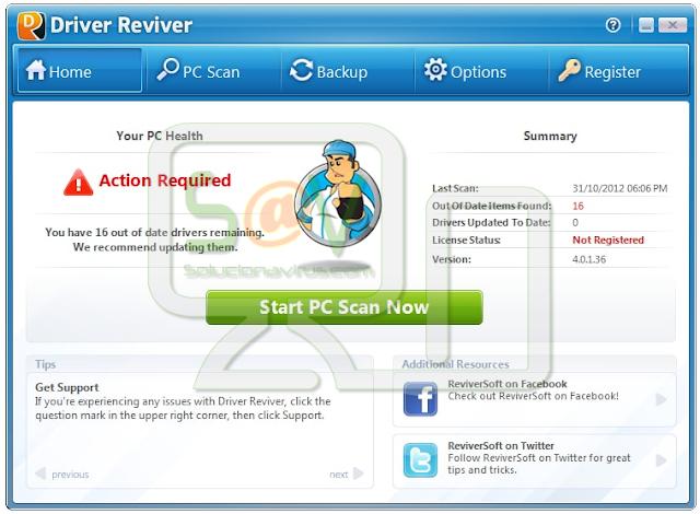 Driver Reviver (Falso optimizador)