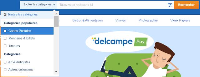Delcampe recherche