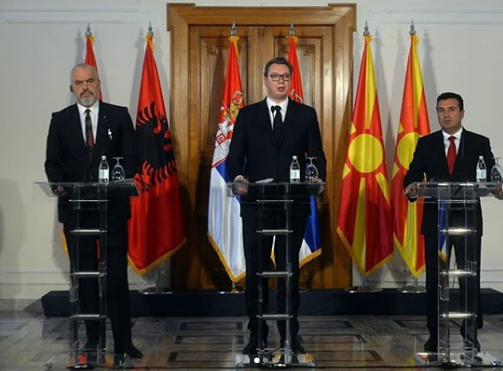 Meeting of Western Balkan leaders in Tirana, Kosovo will not attend due to Vucic