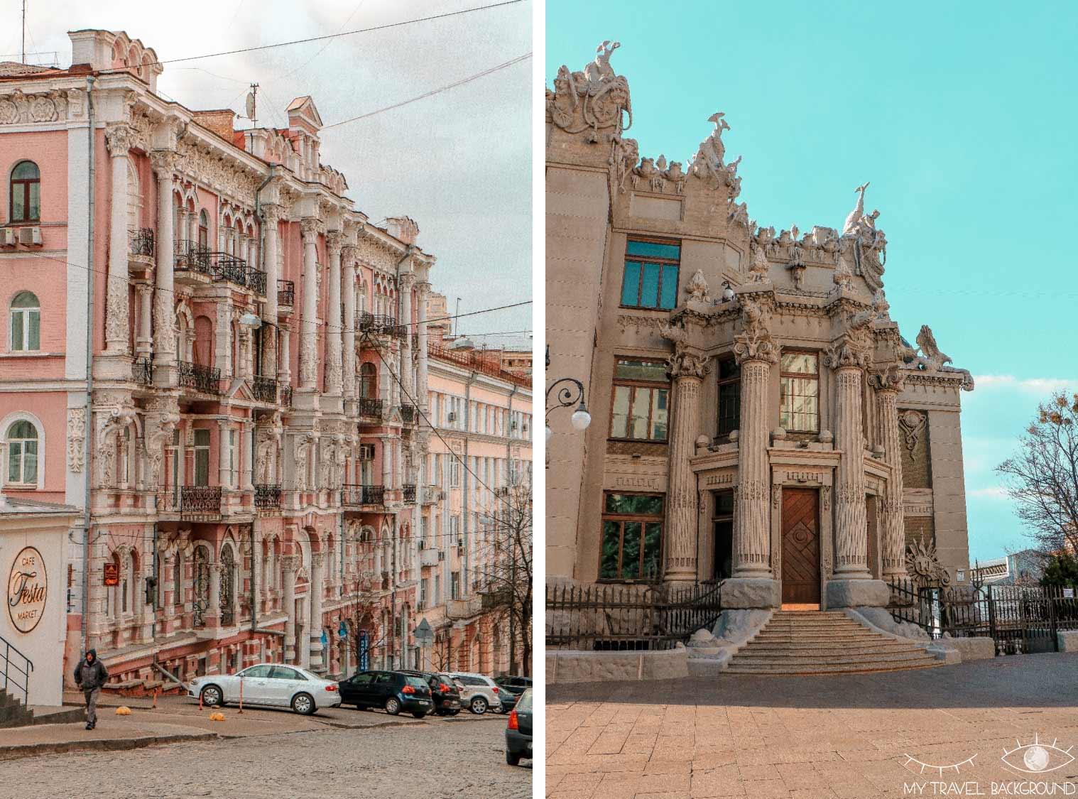 My Travel Background : visiter Kiev, la capitale de l'Ukraine, top 10 - Art nouveau, maison des chimères