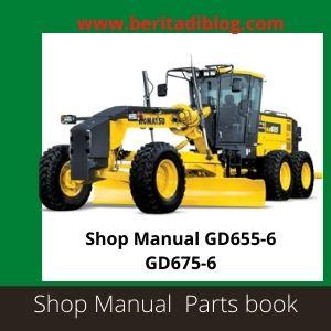 GD655-6 GD675-6 Shop manual motor grader