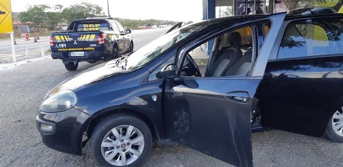 Em 24h, PRF recupera veículo roubado na capital paraibana