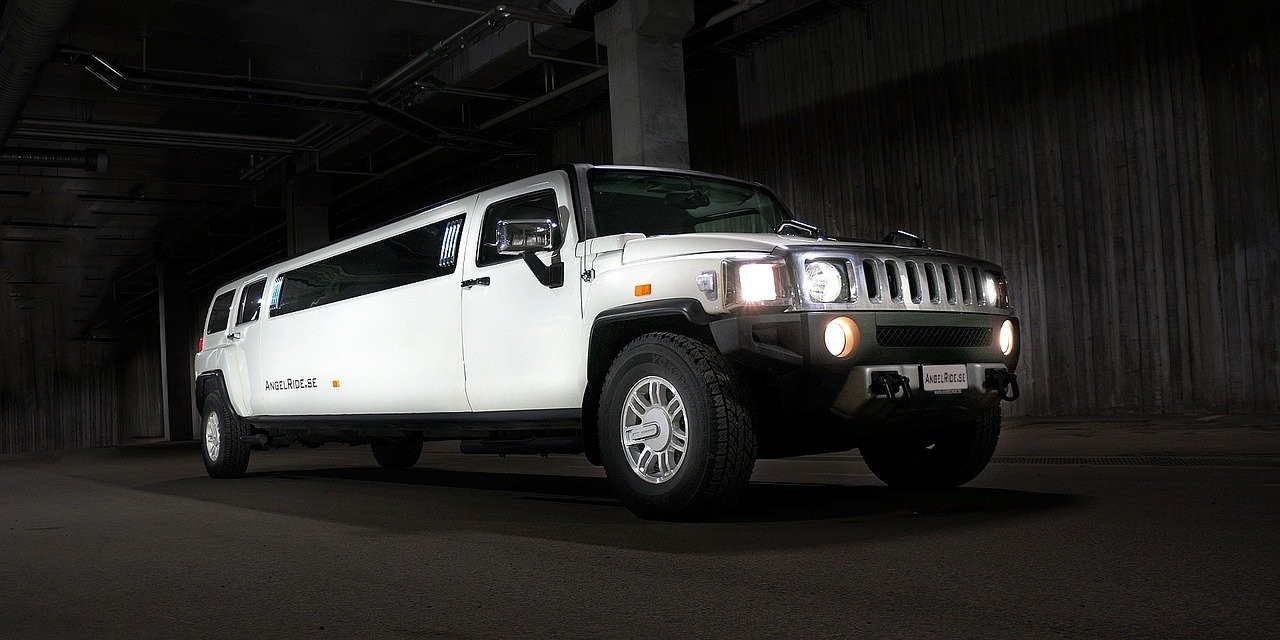 The Hummer Limo for your Wedding Car