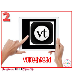 Voice Thread for biography book reports