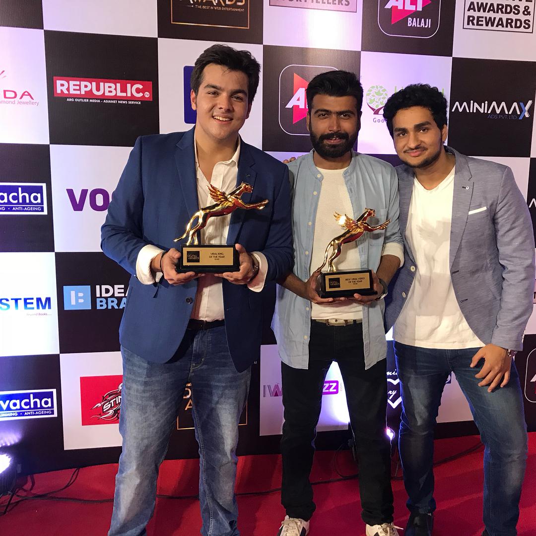 Ashish At IWMDigital Awards