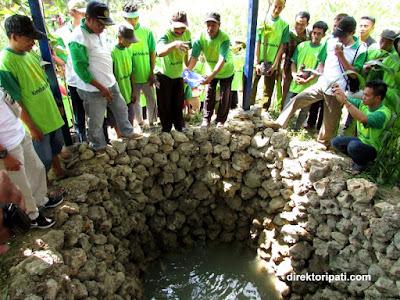 sumber mata air di desa maitan kecamatan tambakromo kabupaten pati jawa tengah CSR PT Indocement