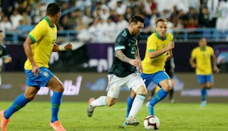 Messi Scores  Rebound For His 69th International Goal