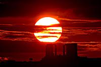 Sunrise over Cape Sounion