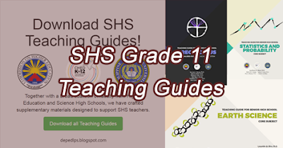 Senior High School (SHS) Grade 11 Teaching Guide