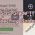 SHS Grade 11 Teaching Guides