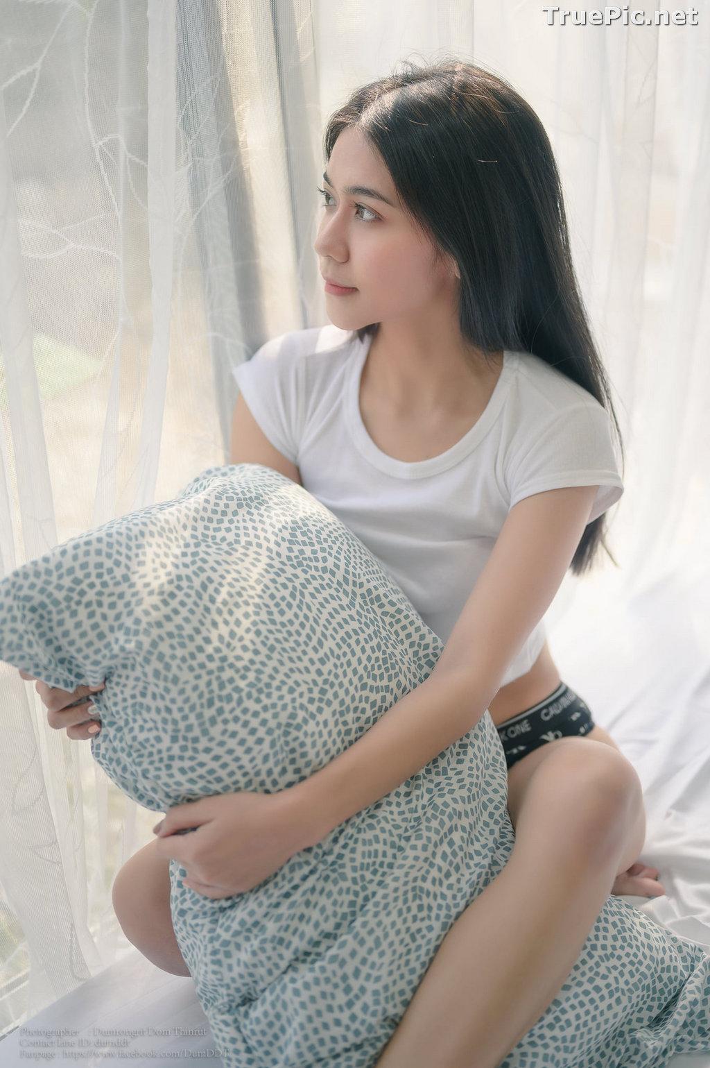 Image Thailand Model - Pattira Saisin - Reading @ Home - TruePic.net - Picture-9