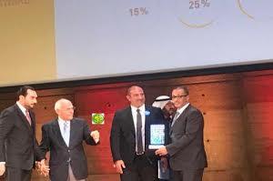 """باريس : رجحل أعمال موريتاني يفوز بجائزة """" المستثمر العربي"""