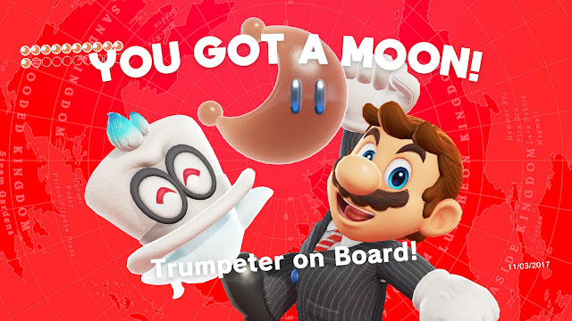 Super Mario Odyssey Cappy Bonneter New Donk City Moon