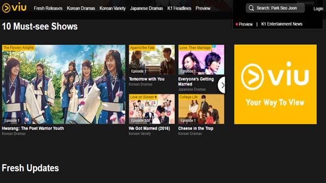 Viu - Aplikasi Streaming Film Dan Nonton Movie Terbaik Di Android