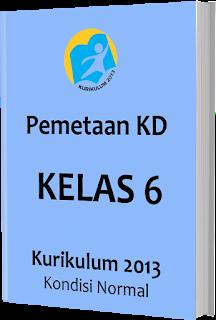 Pemetaan KD Kurikulum 2013 Kelas 6 SD/MI, www.gurnulis.id