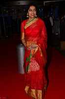 Suhasini in Designer dark Red Saree at 64th Jio Filmfare Awards South ~  Exclusive 004.JPG