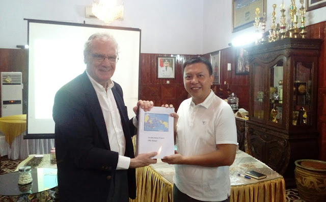 Bupati Selayar, Terima Bos Kapal Pesiar Meribben Promoter Spain