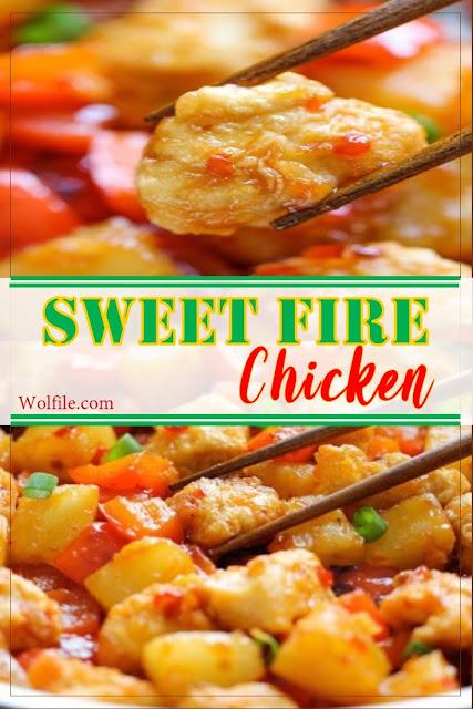 Express Sweet Fire Chicken Recipe