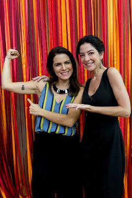 Natália Leite e Ana Paula Padrão, criadoras da Escola de Você - Divulgação/Band