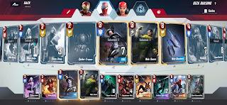 Marvel duel spiderman deck