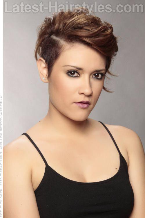 Sensational Growing Out A Short Pixie Cut Getting An Undercut Over 40 Short Hairstyles Gunalazisus