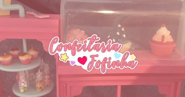 abertura confeitaria da Barbie - Grendene
