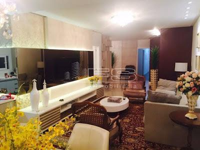 1156 -Aureo Residence -  Apartamento 4 dormitórios Mobiliado - Meia Praia - Itapema/SC