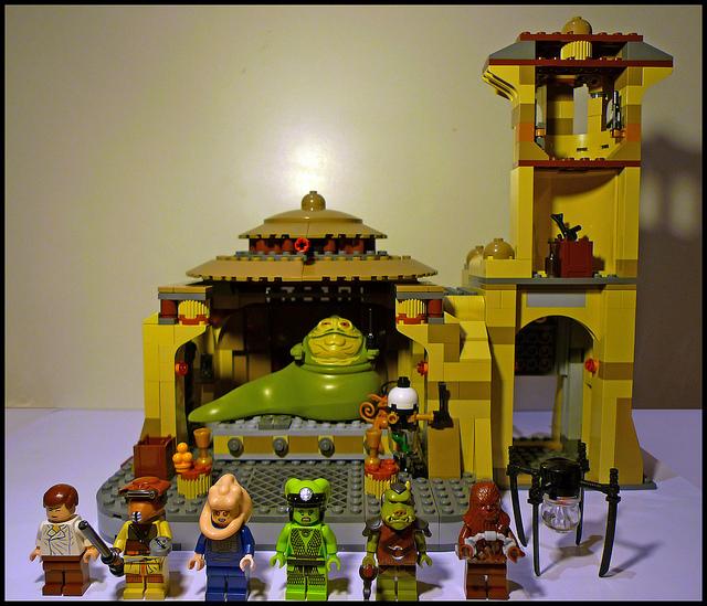 Boris Bricks Lego Star Wars 9516 Jabbas Palace Review