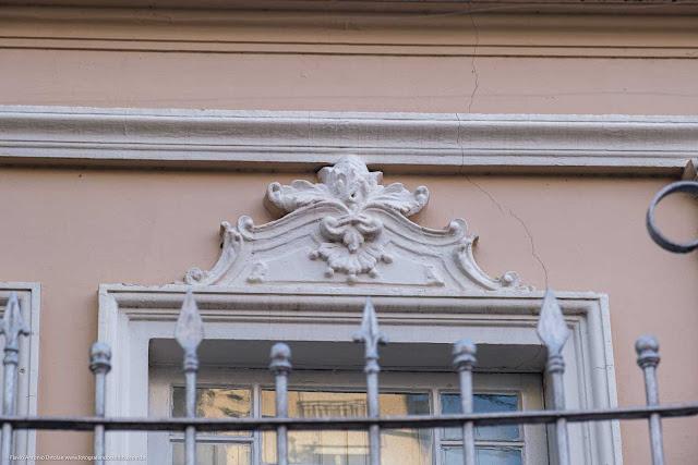 Casa na Av. João Gualberto que é Unidade de Interesse de Preservação - detalhe