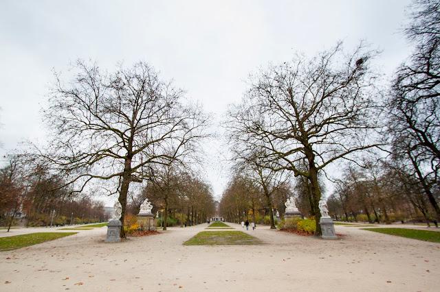 Parco del Palazzo reale-Bruxelles
