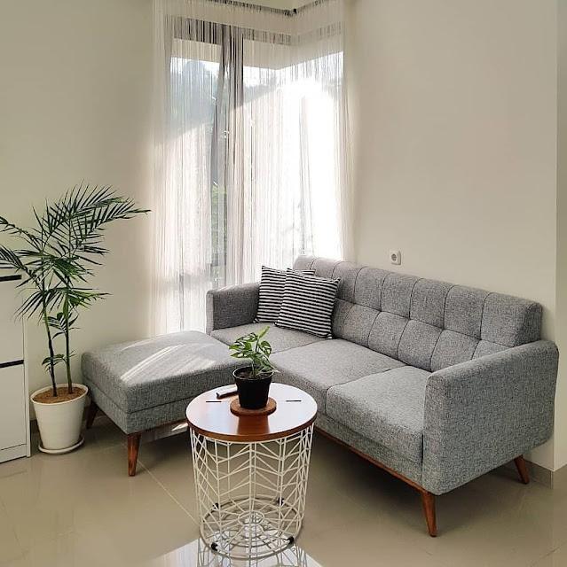 Model Sofa Minimalis untuk Sudut Ruang Tamu Kecil