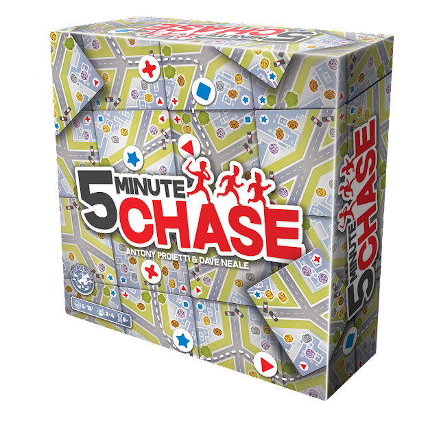 5 Minute Chase - Board & Dice