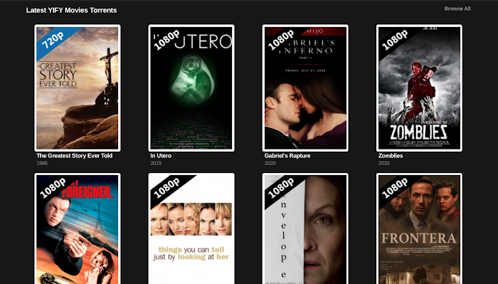 Best Yify Movies Alternatives and Yify Proxy Sites For 2020