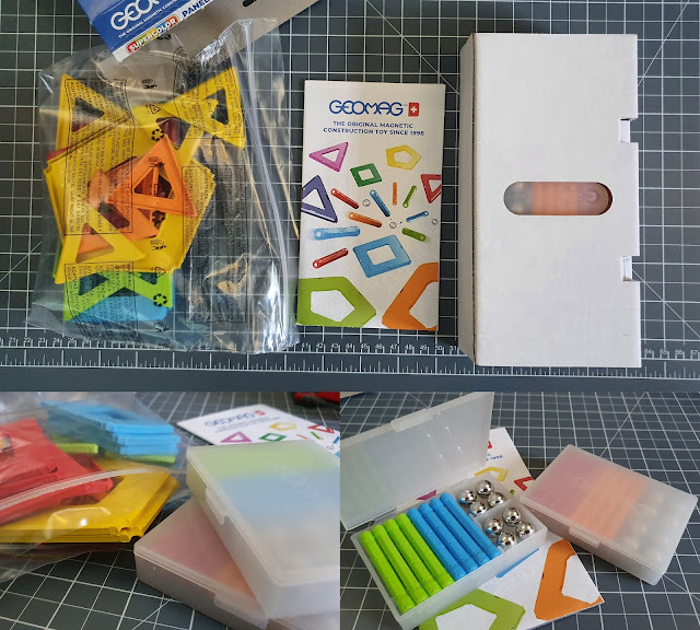 Geomag Magnetic Construction Set review eco friendly packaging and storage