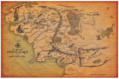 MİM, Orta Dünya, Pandora, İkran, Rohan, Rohirim, Eowen, Theoden, Gandalf, J R R Tolkien, Yüzüklerin Efendisi,