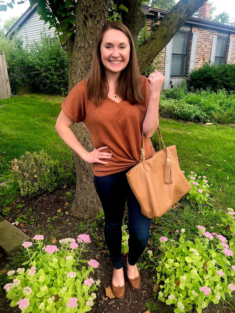 The Chic Technique presents 5 outfits in differing shades of orange perfect for the fall season.