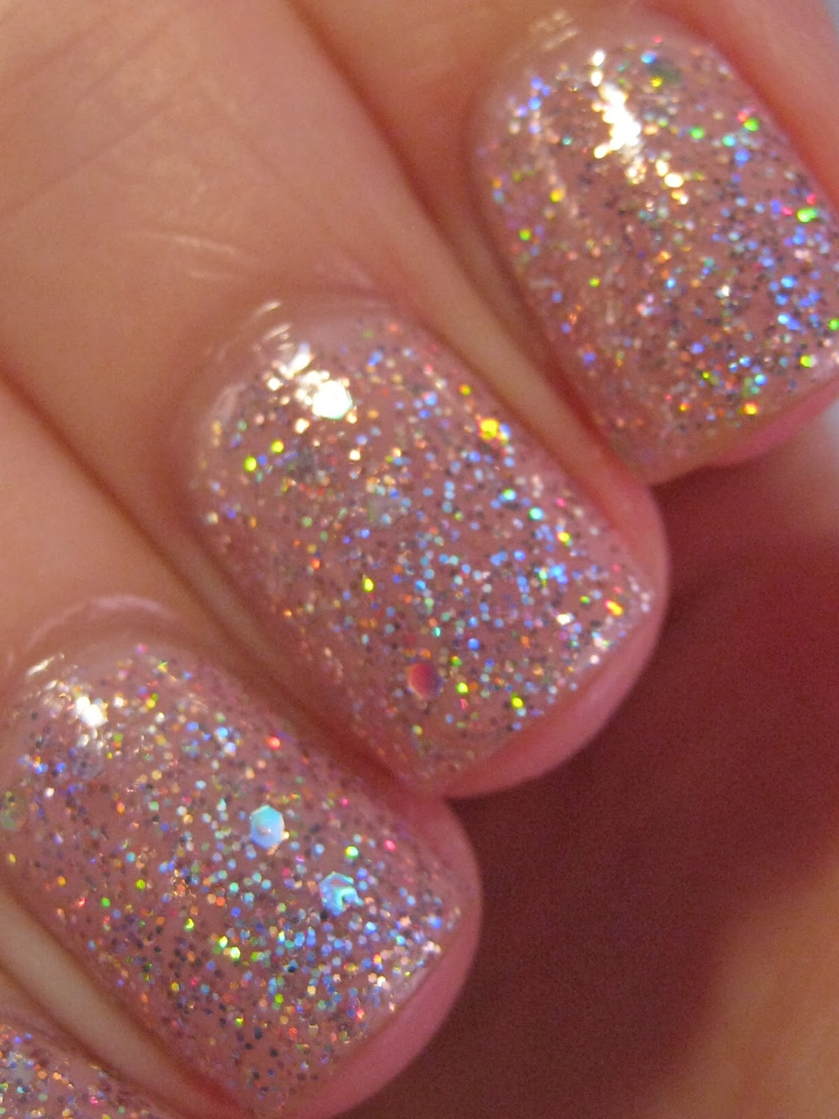 Glitter Nail Trends: Naily Perfect: Topshop Adrenaline Swatch
