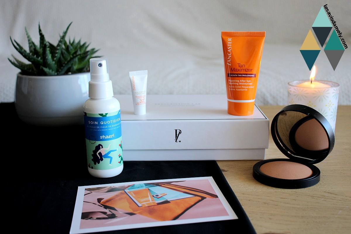 avis et test box beauté prescription lab juin dolce vita code promo