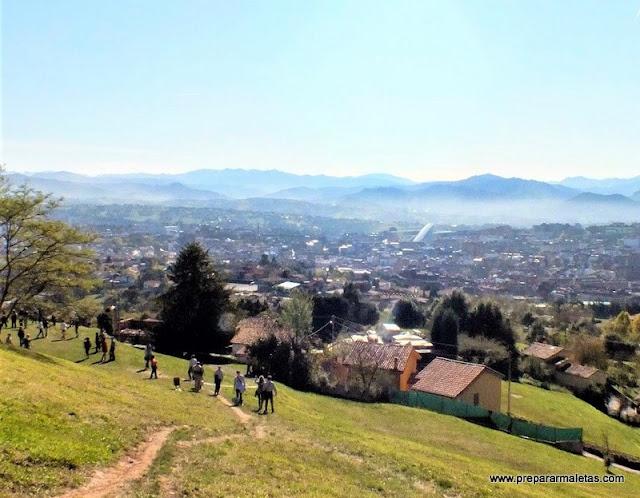 que ver alrededores de Oviedo Naranco