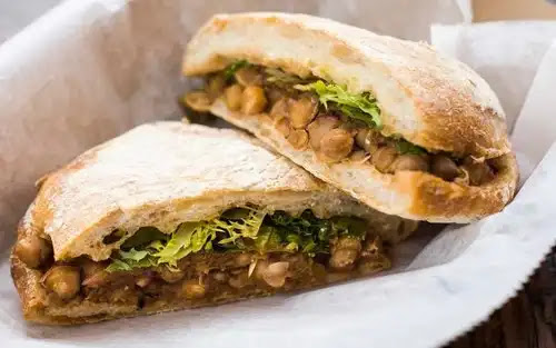 Easy and Delicious Chana Sandwich Recipe at home