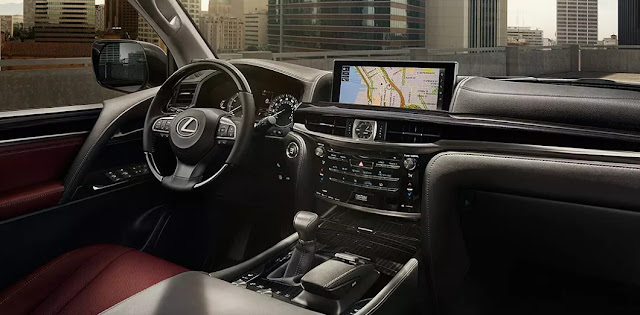 2017 Lexus LX 570 Review UK