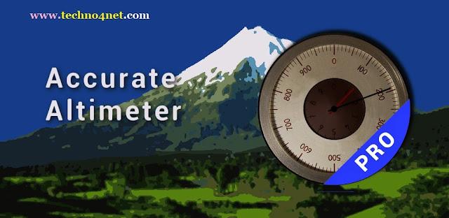 برنامج قياس الارتفاع للاندرويد