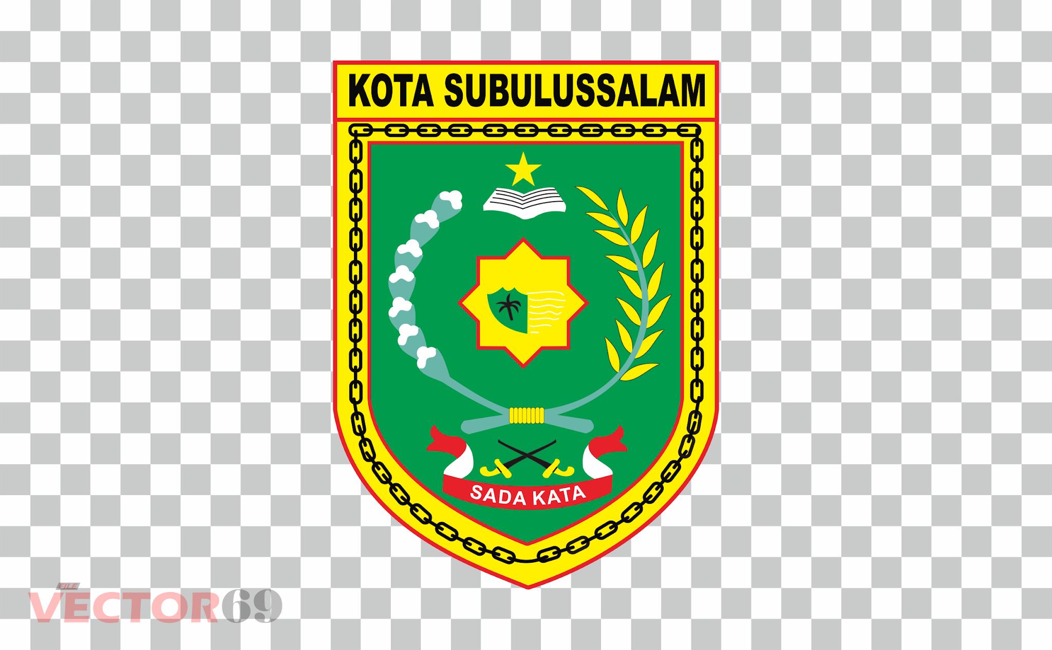 Kota Subulussalam Logo - Download Vector File PNG (Portable Network Graphics)