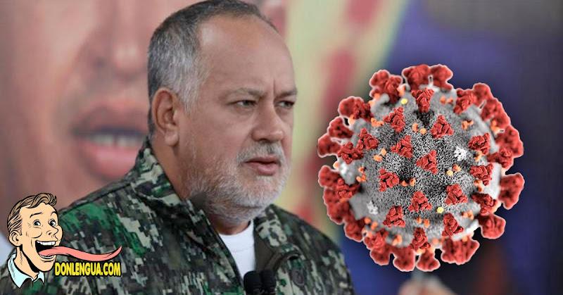 Diosdado Cabello cancela programa de TV por estar infectado