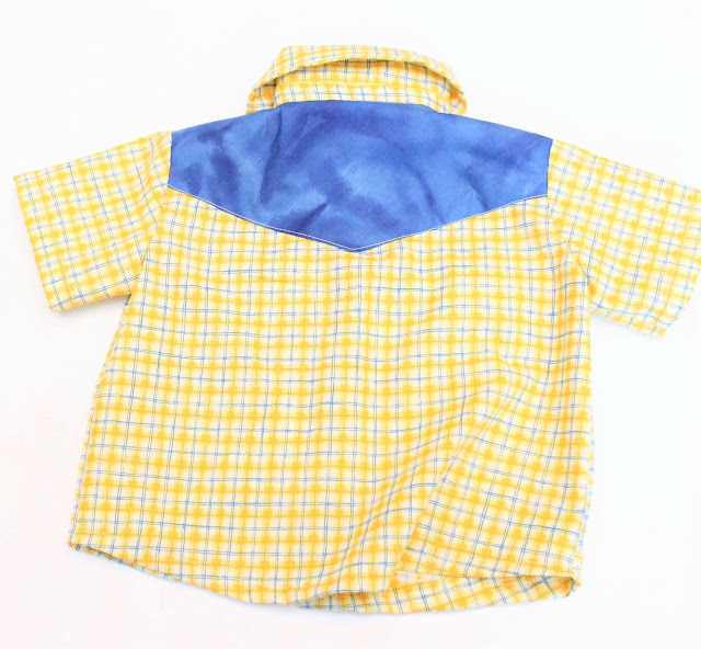 toddler western shirt pattern