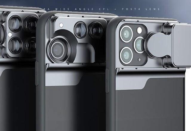 【iPhone 11 系列】Aiyo0o 擴充鏡頭手機殼 結合廣角、微距、瀘鏡、魚眼